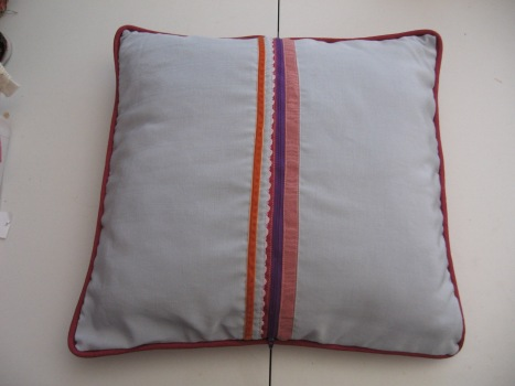 Scrappy Designer Pillow 085