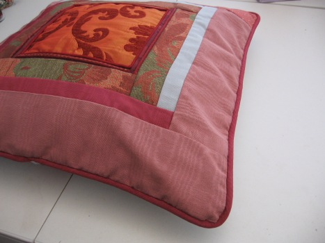 Scrappy Designer Pillow 092