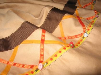 Egyptian Cotton Pillowcase Curtain