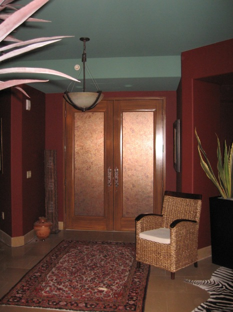 Entry Door Specialty Treatment