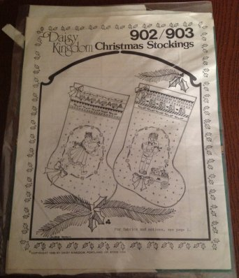 Vintage Christmas Stocking Pattern