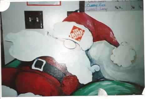 Ho, ho, ho, Home Depot